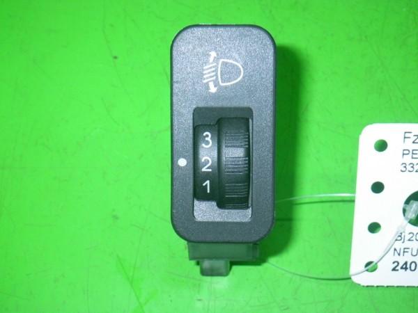 Schalter Leuchtweitenregler - PEUGEOT 206 Schrägheck (2A/C) 1.6 16V 6554T7