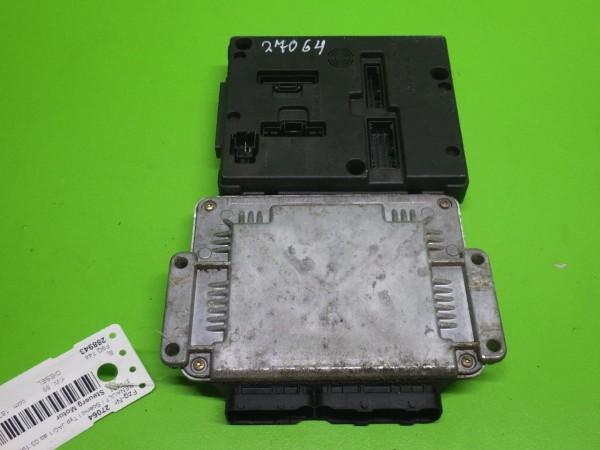 Steuergerät Motor - RENAULT SCÉNIC I (JA0/1_) 1.9 dTi (JA1U) 0281010442