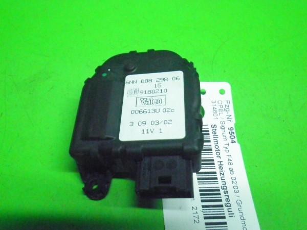 Stellmotor Heizungsregulierung - OPEL SIGNUM 2.2 DTI 006613U02C