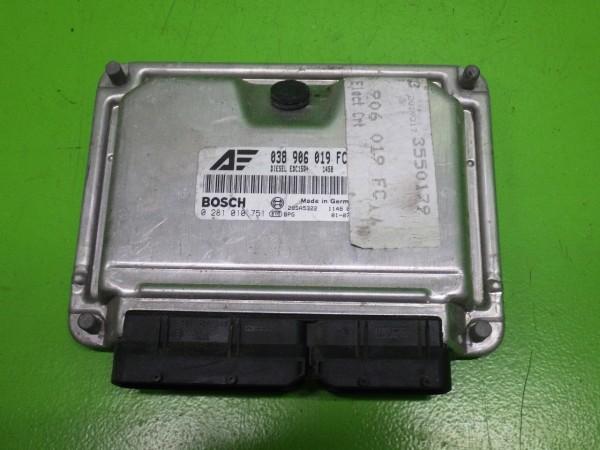 Steuergerät Motor - VW SHARAN (7M8, 7M9, 7M6) 1.9 TDI 0281010751
