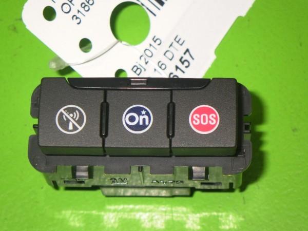 Schalter SOS Taster Notruf - OPEL ASTRA K (B16) 1.6 CDTi (68) 13496811