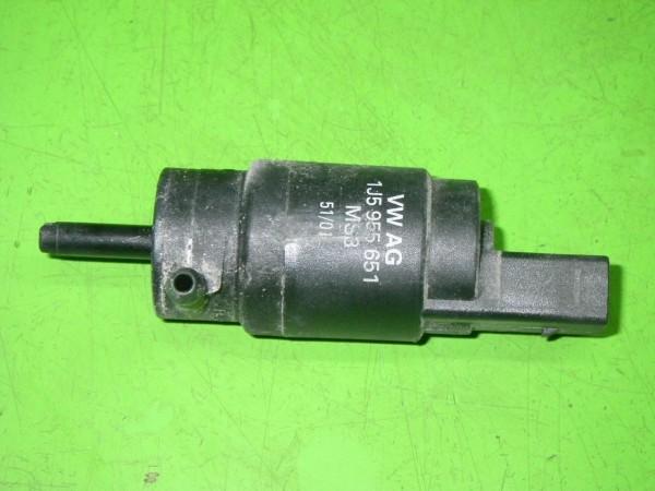 Pumpe Scheibenwaschanlage - VW BORA (1J2) 1.6 16V 1J5955651