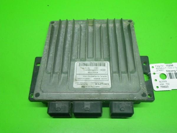 Steuergerät Motor - RENAULT CLIO II (BB0/1/2_, CB0/1/2_) 1.5 dCi (B/CB08) 8200212348