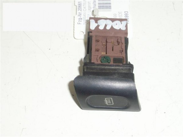 Schalter Heckscheibenheizung - NISSAN (DATSUN) SERENA (C23M) 1.6 16V