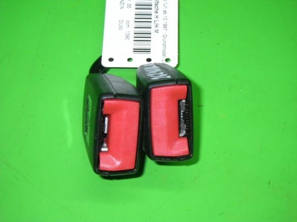 Sicherheits-Gurtpeitsche hinten links/hinten Mitte - VW GOLF IV (1J1) 1.4 16V 1J0857488