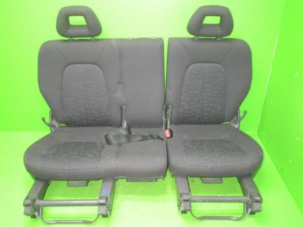 Sitzbank hinten komplett - MERCEDES-BENZ A-KLASSE (W168) A 140 (168.031, 168.131)