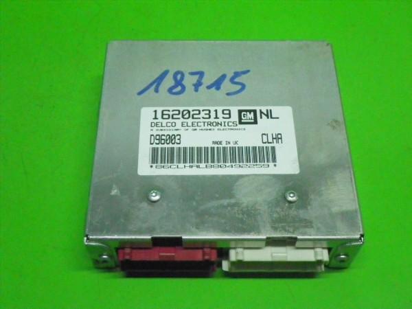 Steuergerät Motor - OPEL VECTRA B (J96) 1.6 i 16V 16202319NL