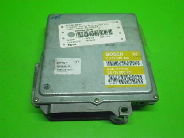 Steuergerät Motor - PEUGEOT 106 I (1A, 1C) 1.0 0261200780
