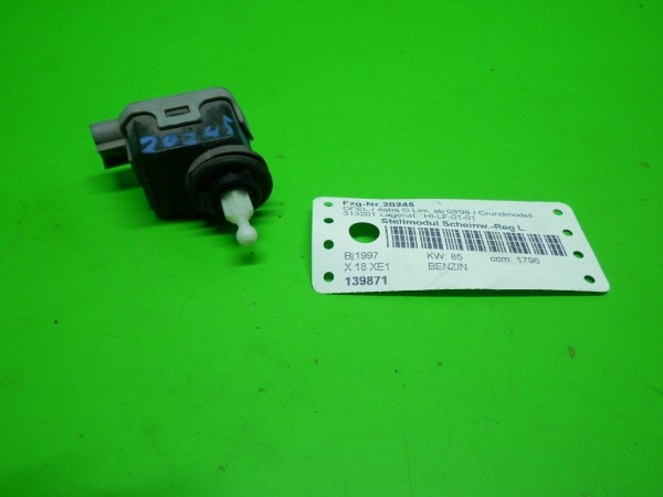 Stellmodul Scheinwerfer-Regulierung links - OPEL ASTRA G CC (T98) 1.8 16V (F08, F48)