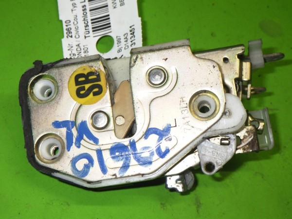 Türschloss links - HONDA CIVIC VI Hatchback (EJ, EK) 1.4 i (EJ9) 72150S03G01