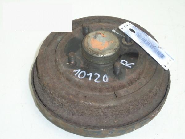Bremstrommel hinten rechts - FORD COURIER Kasten (F3L, F5L) 1.3