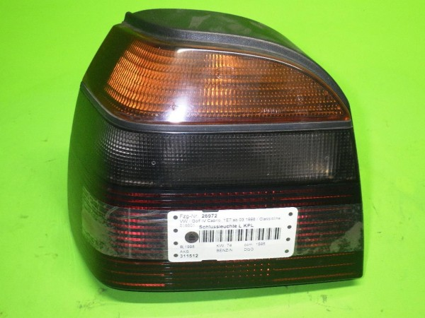 Schlussleuchte links komplett - VW GOLF IV Cabriolet (1E7) 1.6