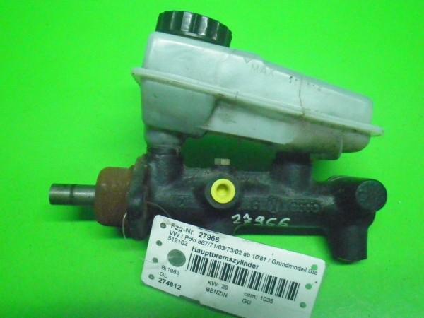 Hauptbremszylinder - VW POLO (86C, 80) 1.1