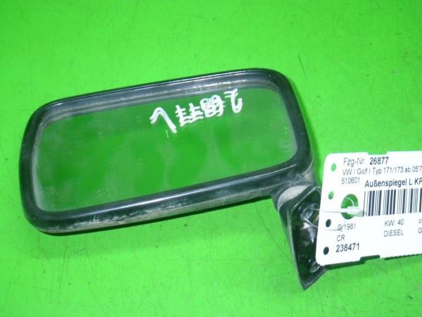 Außenspiegel links komplett - VW GOLF I (17) 1.6 D