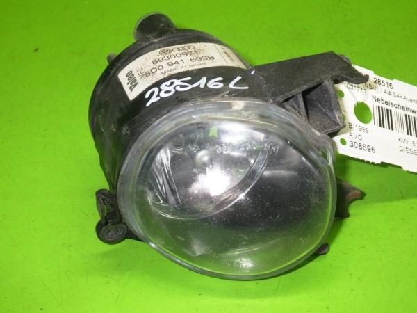 Nebelscheinwerfer links komplett - AUDI (NSU) A4 Avant (8D5, B5) 1.9 TDI 8D0