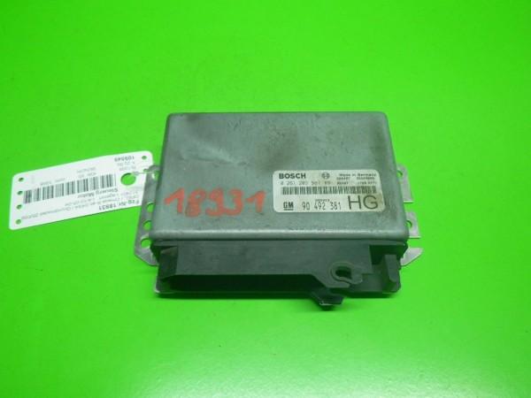Steuergerät Motor - OPEL OMEGA B (V94) 3.0 V6 (F69, M69, P69) 0261203587