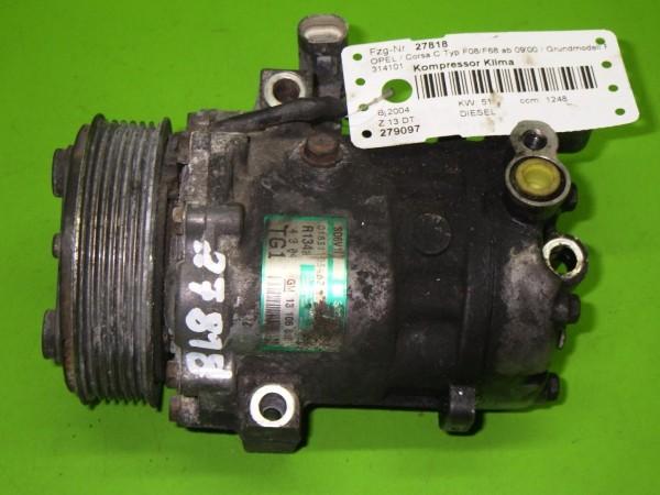 Kompressor Klima - OPEL CORSA C (X01) 1.3 CDTI (F08, F68) 13106850