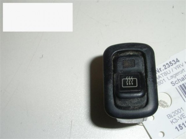 Schalter Heckscheibenheizung - DAIHATSU YRV (M2) 1.3