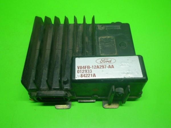 Steuergerät Motor - FORD FIESTA II (FBD) 1.0 (FBD) V84FB12A297AA