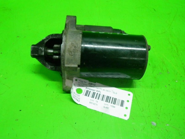 Anlasser komplett - HYUNDAI MATRIX (FC) 1.6 36100-22805