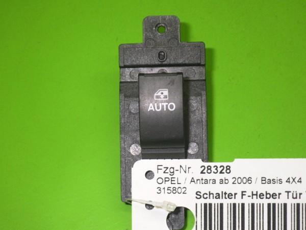 Schalter Fensterheber Tür vorne rechts - OPEL ANTARA 2.2 CDTi 4x4 20968456