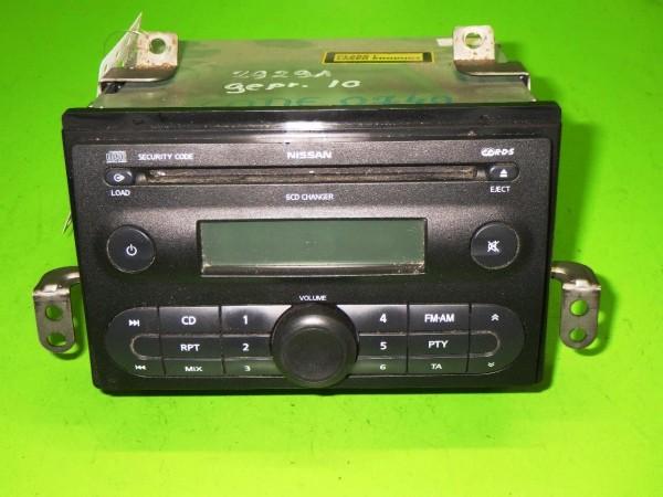 CD-Radio - NISSAN (DATSUN) NOTE (E11, NE11) 1.5 dCi 28184BC41A