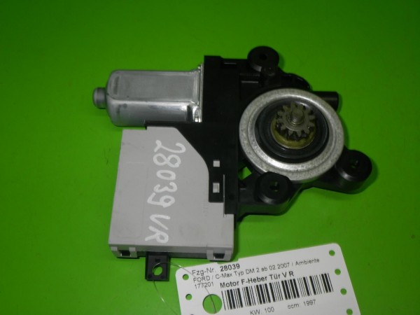 Motor Fensterheber Tür vorne rechts - FORD C-MAX (DM2) 2.0 TDCi 5WK11584C