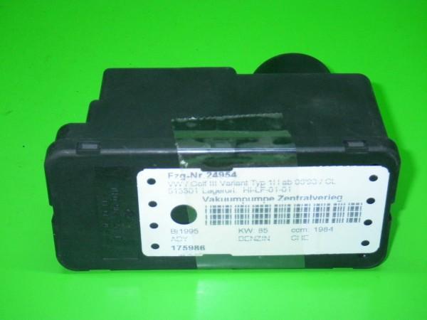 Vakuumpumpe Zentralverriegelung - VW GOLF III Variant (1H5) 2.0 1H0962257E