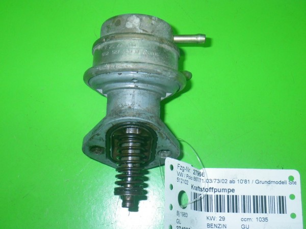 Kraftstoffpumpe - VW POLO (86C, 80) 1.1 720447002249