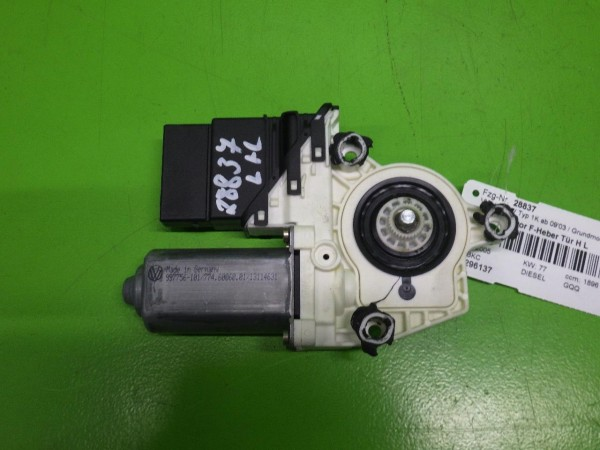 Motor Fensterheber Tür hinten links - VW GOLF V (1K1) 1.9 TDI 1K4839401C