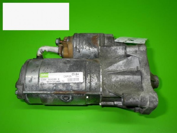 Anlasser komplett - CITROEN C6 (TD_) 2.2 HDi 9654561480