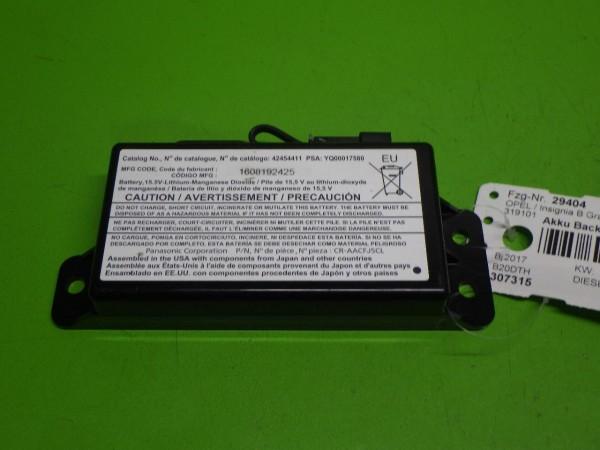 Akku Backup Notrufsystem - OPEL INSIGNIA B Grand Sport (Z18) 2.0 CDTi (68) 42454411