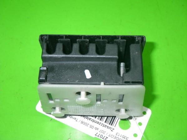 Zusatzsicherungskasten komplett - PEUGEOT 207 (WA_, WC_) 1.4 654588